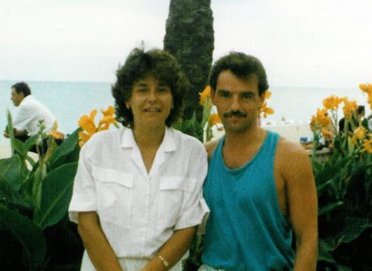 1988 Sabine und Horst.