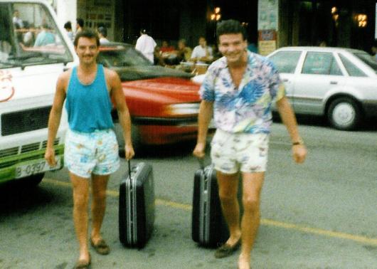 Horst und Michael.