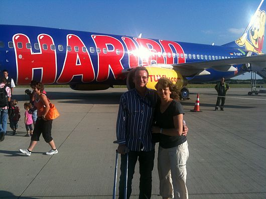 Haribo plane