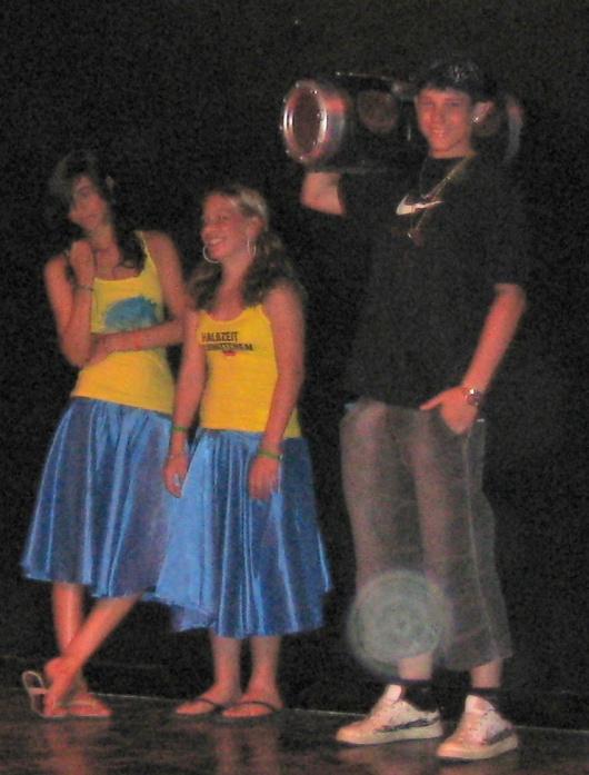 Marcel Hip Hop Typ und Halbzeitschnitchen Sharm-el-Sheikh 2008