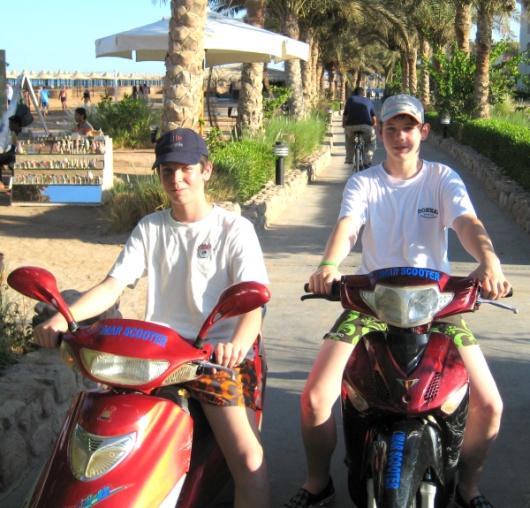 Elektro Roller Sharm-el-Sheikh 2008