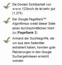 PageRank 3 von 10