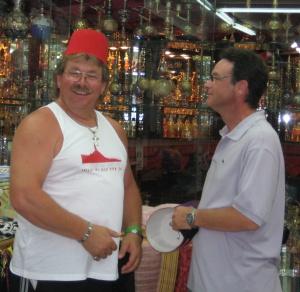 Uwe und Michael  Sharm-el-Sheikh 2008
