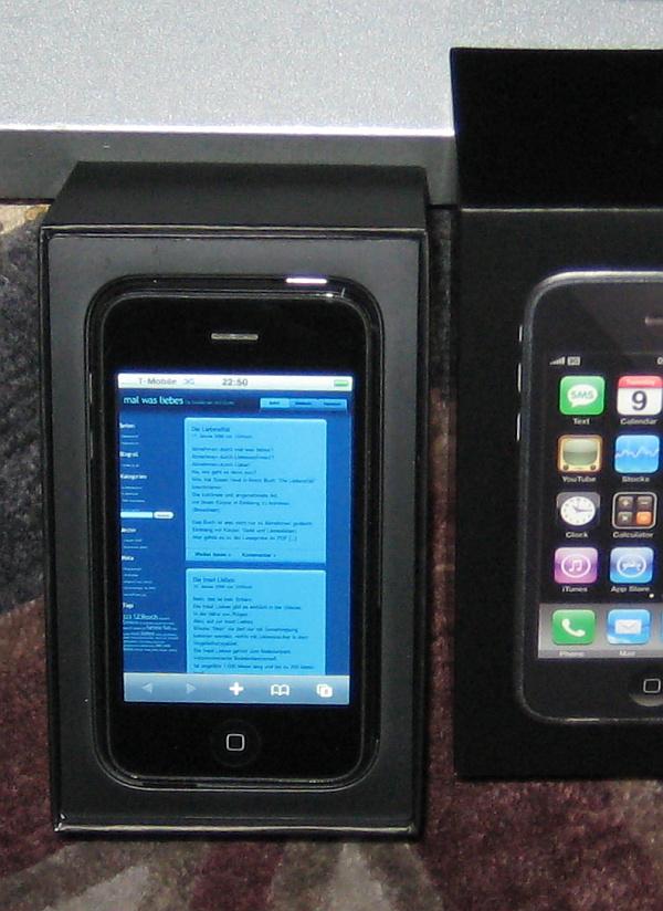 My iPhone 3G