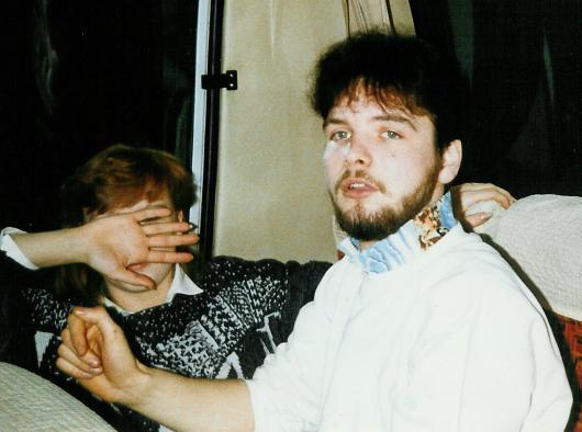 Michael with full beard.