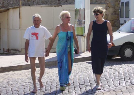 Senhor Marcesch, Anita und Christine.