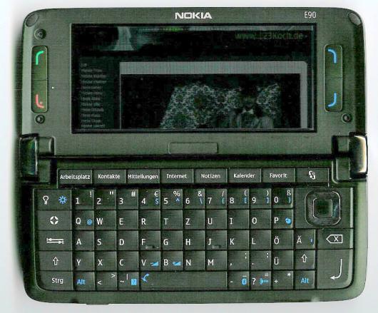 Nokia E90 Tastenbeleuchtung innen